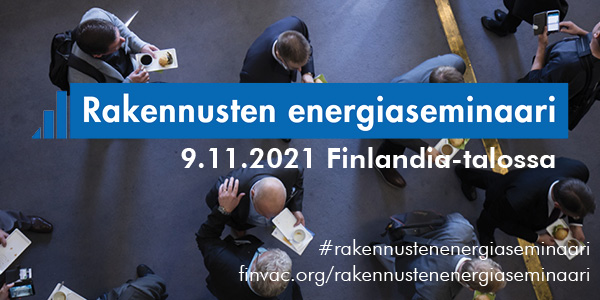 Rakennusten energiaseminaari 9.11.2021 Finlandia-talossa
