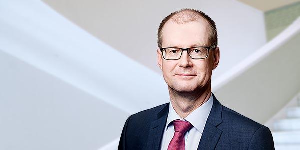 LVI-TU:n hallituksen puheenjohtaja Heikki Pesu
