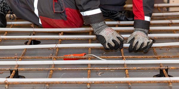 LVI-TU: Lattialämmityksen asentaminen