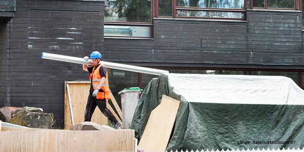 Rakennusteollisuus RT: Dipoli (15) työmaa